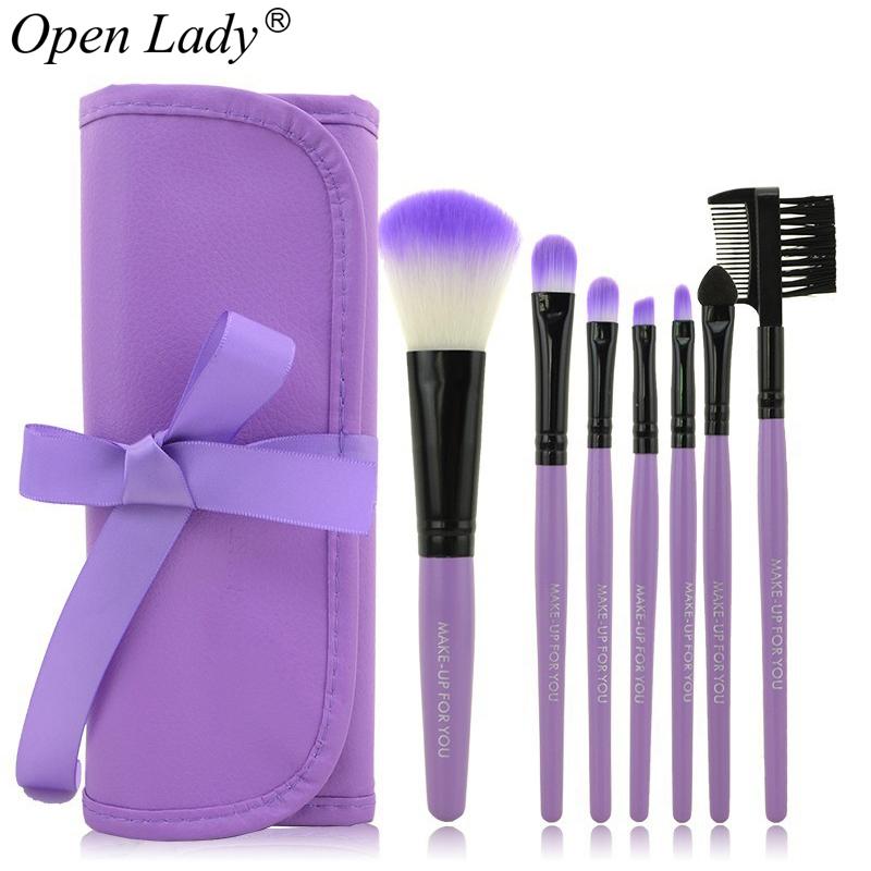 7pcs/kits Makeup Brushes Professional Set Cosmetics Brand Makeup Brush Tools Foundation Brush For Face Make Up Beauty Essentials(China (Mainland))