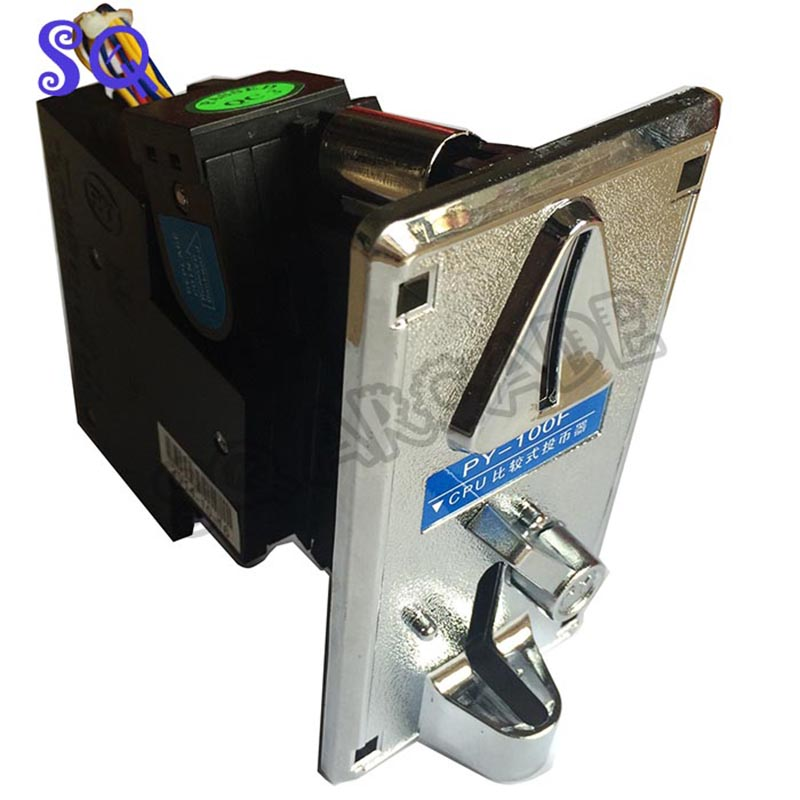 Free shipping coin acceptor CPU coin selector Plastic Electronic Mechanism Arcade Games Machines Accessory Parts(China (Mainland))