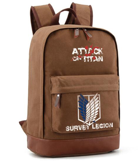 Good quality Japanese anime Attack on Titan brown ...