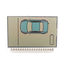 2015 new hot sale ZX925 display for Sheriff ZX-925 lcd remote controller /two way car alarm system free shipping(China (Mainland))