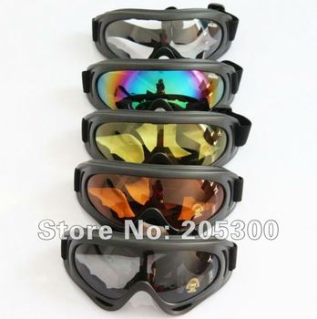 Free Shipping Airsoft Safety Motorcycle Goggle X400 Ski/Cycling/Motorbike/Motorcross Glasses Racing Goggles