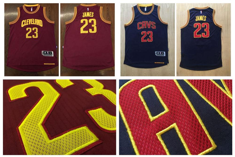 All Stitiched,every logo number and name stiticded,2016 Cleveland Cavaliers,LeBron James,for mens(China (Mainland))
