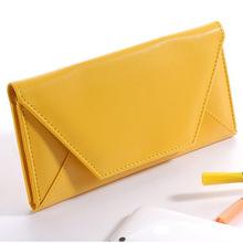Envelope Bag Candy Color Wallet High Quality Designer Purses 2015 Women Bag Daily Clutch Bags carteiras femininas Free Shipping