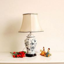 Recalling home furnishings Markor American ceramic hand-painted porcelain lamp 3-D models(China (Mainland))