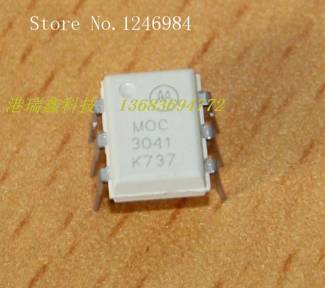 [SA]DIP DIP IC chip Motorola MOC3041 optocoupler--50pcs/lot(China (Mainland))