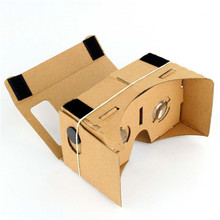Google Cardboard Virtual Reality VR Mobile Phone 3D Viewing Glasses for 5 0 Screen Google Glasses