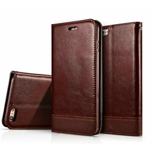 Luxury Magnetic Wallet Case For Apple IPhone 6 6S/ 6 6S Plus Flip Cover PU Leather Stand Phone Bags Cases For IPhone 7 7 Plus (China (Mainland))