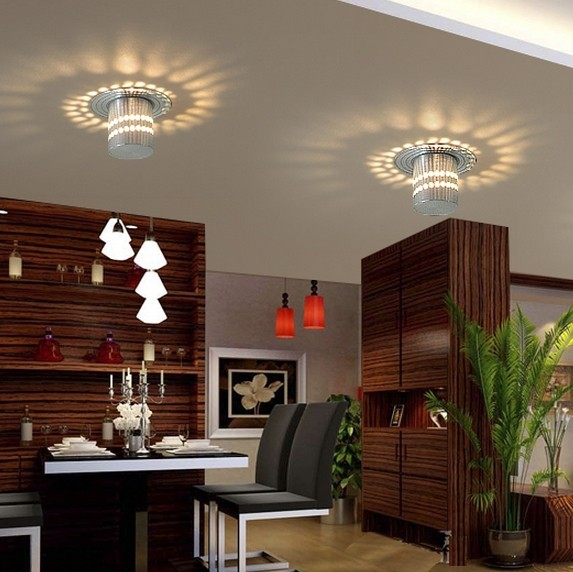 3w Modern Fashion Ceiling Living Room Home Lighting Wall Lamp Warm White RGB