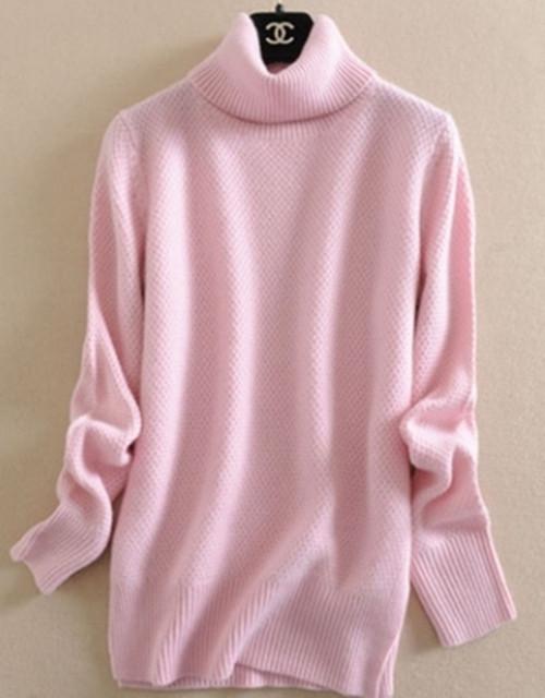 Осень и зима чисто кашемир , женщин свитер свободный пуловер свитер женщины утолщение ...