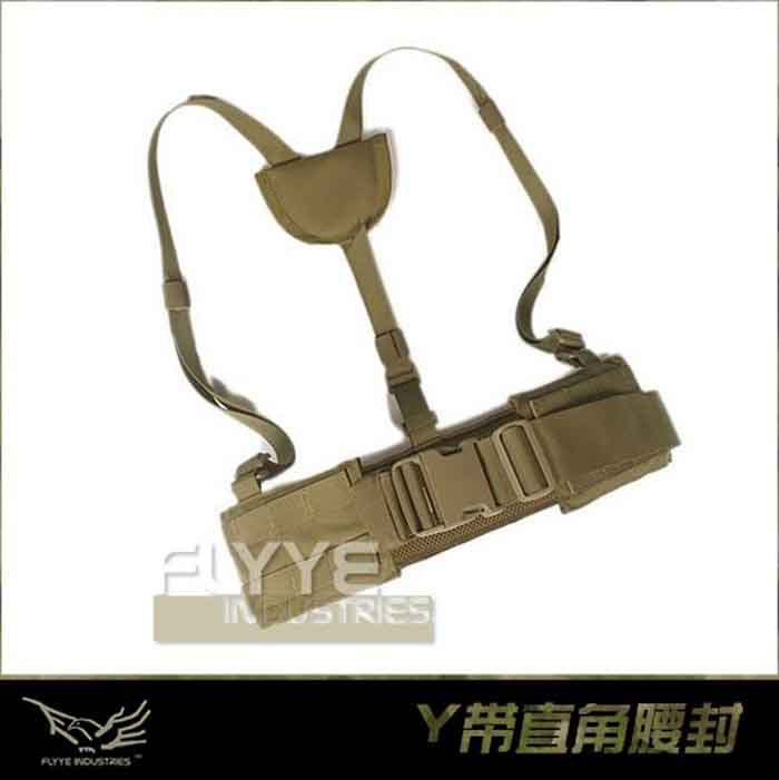 Genuine FLYYE B007 1000D CORDURA Nylon Molle System Tactical Belt - Military Belts Army Multifunctionl Duty