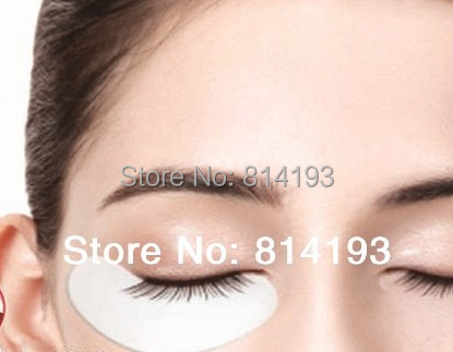 hot Free Shipping 50 Pair Under Eye Pad mask Patch Lint Eyelash Lash Extension Tool Supply Medical Tape Crystal Eyelid Patch