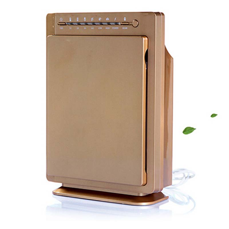 Ionizers HEPA Air Purifier Carbon Filter Air Cleaner Home Office PM2.5 In Addition to Smoke