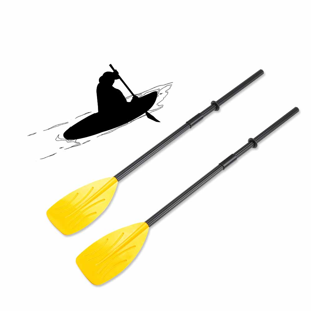 1Pair 122.5CM Length Kayak Paddle Oars Wear-resistant Fishing Boat Inflatable Boat Kayak Paddle+Shaft+Connectors+Rubber Rings(China (Mainland))