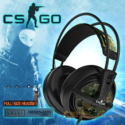 CSGO version Steelseries Siberia V2 Gaming Headphone, FPS Gaming Headphone Brand new,Drop shipping, Free & Fast Shipping(China (Mainland))