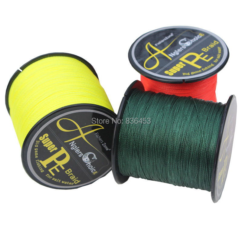 anglers choice japanese100 pe braided fishing line 300m