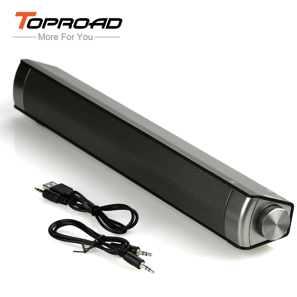 Wireless Bluetooth Speaker Slim Magnetic Wireless Soundbar HIFI Box Subwoofer Speakers Hands-free for Mobile Phones PC Tablet TV(China (Mainland))