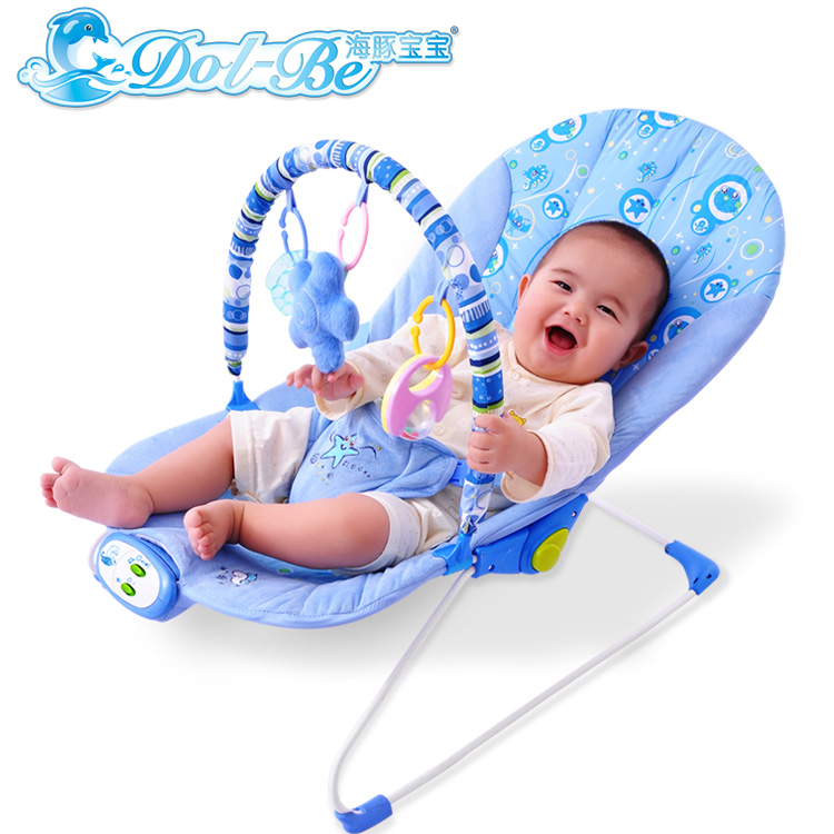 Dolphin baby multifunctional recliner chairs kids cradle for Baby chaise lounge