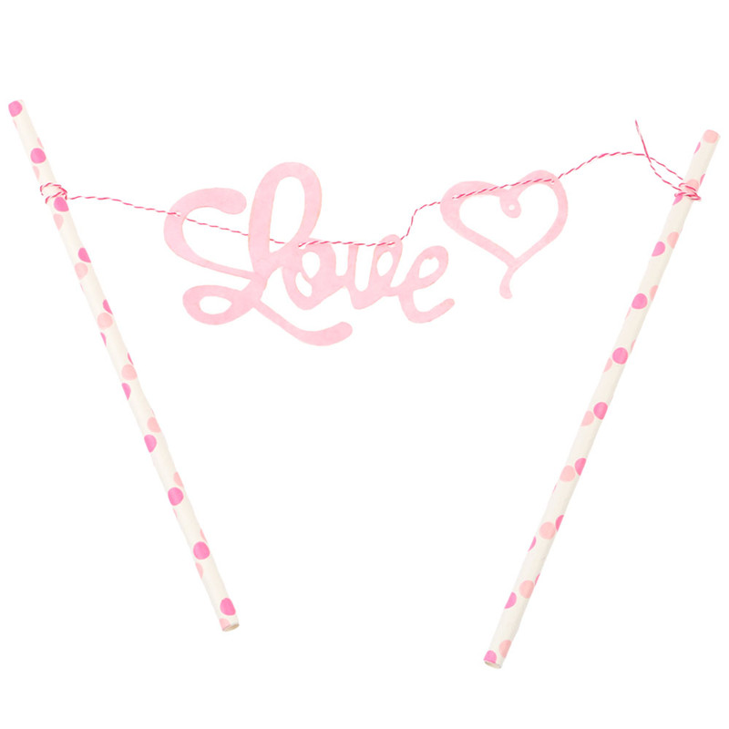 Cute Happy Birthday Cake Topper Banner For Kids/Adults Party Decoration Flags Birthday Gift(China (Mainland))