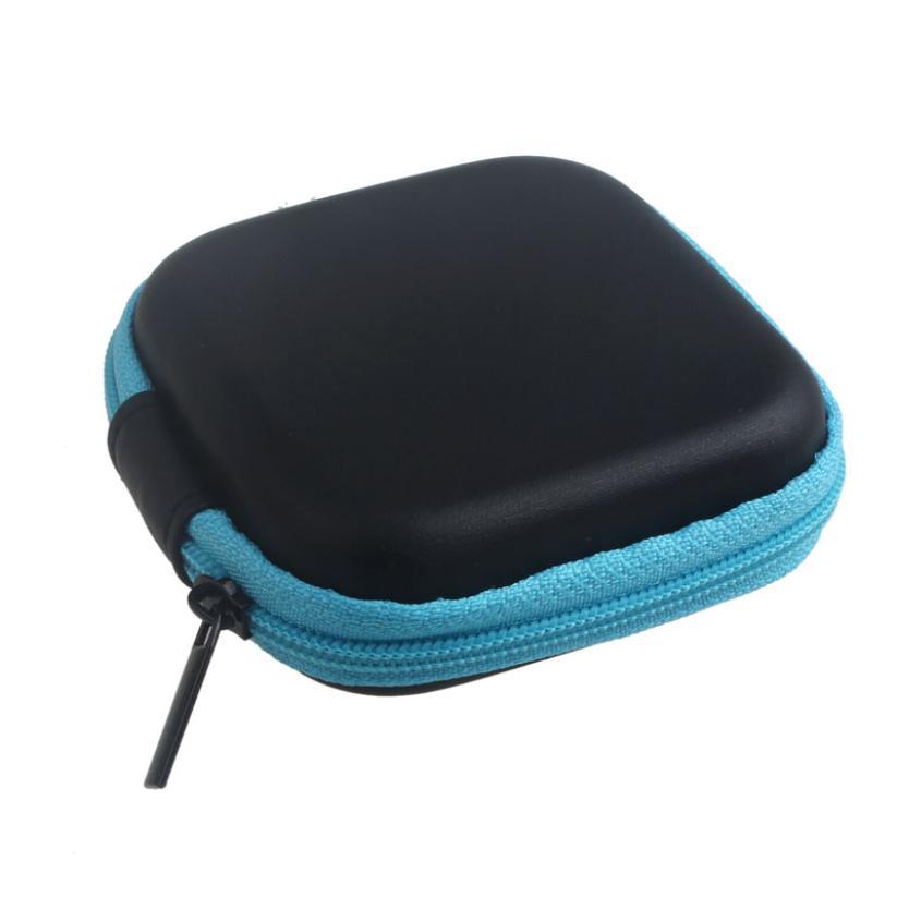2016 Zipper Storage Bag Carrying Case for Hard Keep Earphones SD Card Area BU fe26<br><br>Aliexpress