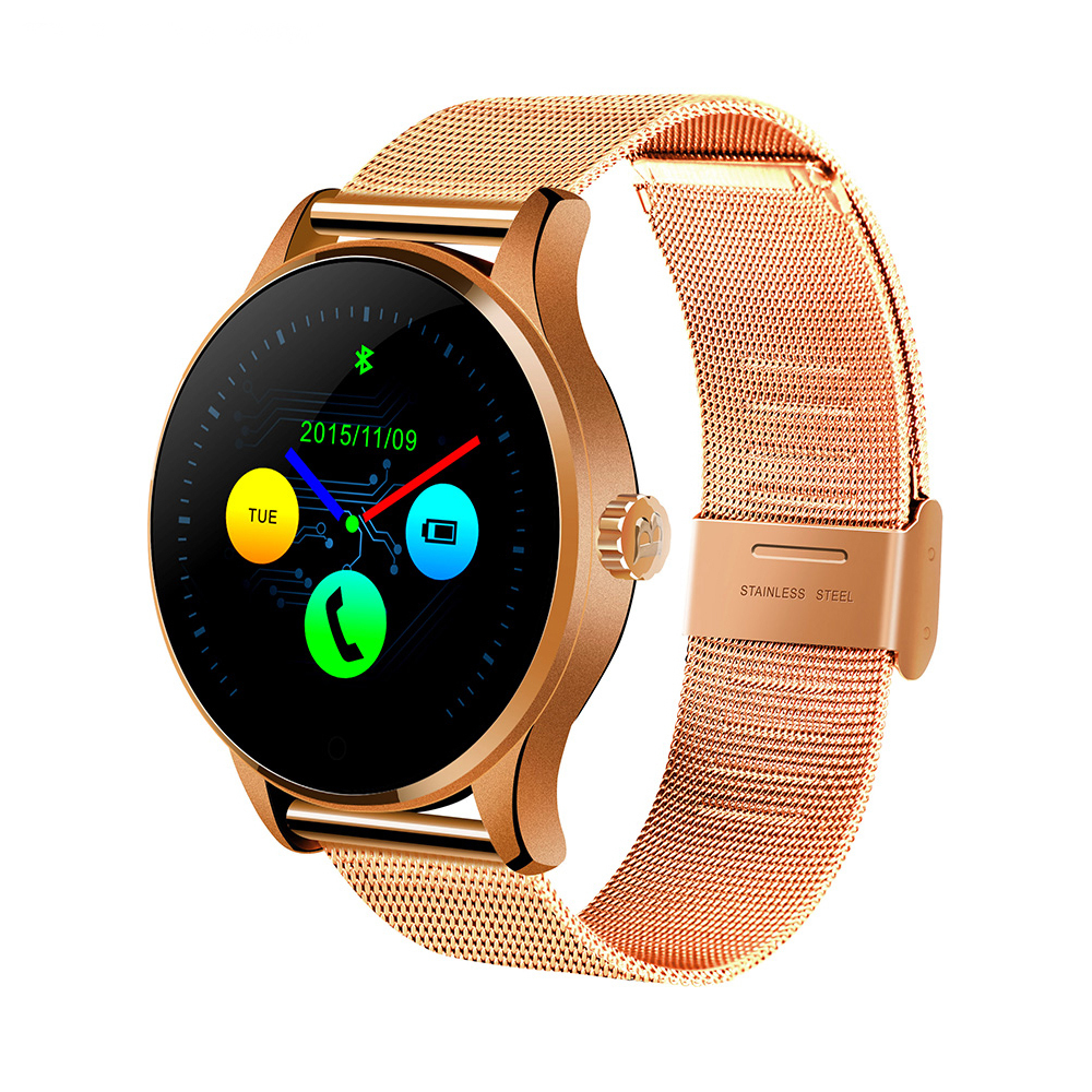 Original Bluetooth K88H Smart Watch Wristwatch MTK2502 Smartwatch Heart Rate Monitor Pedometer Tracker Dialing Android iOS