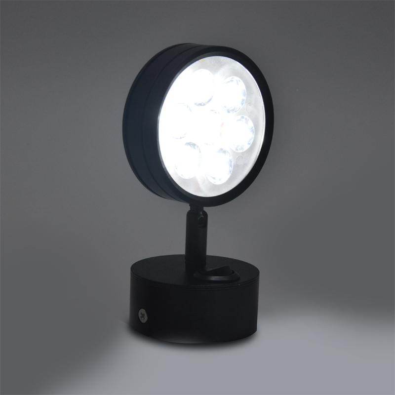 Современный светодиодный настенный светильник серебряный прикроватный для 4