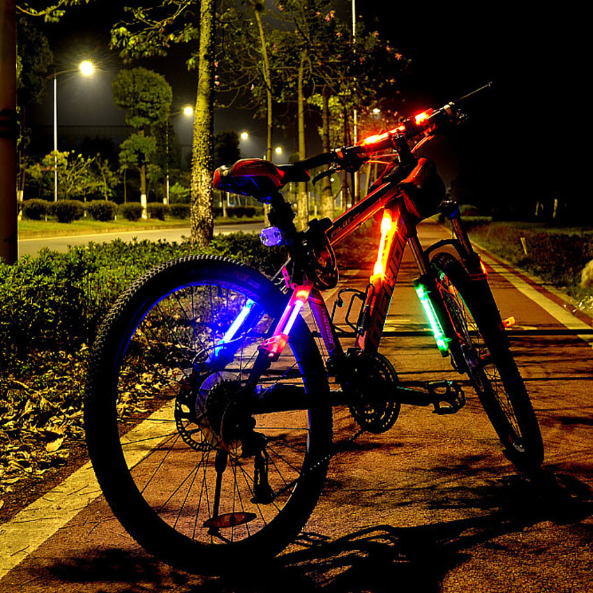 Silicone bicycle accessories tail lights Mountain bike ...