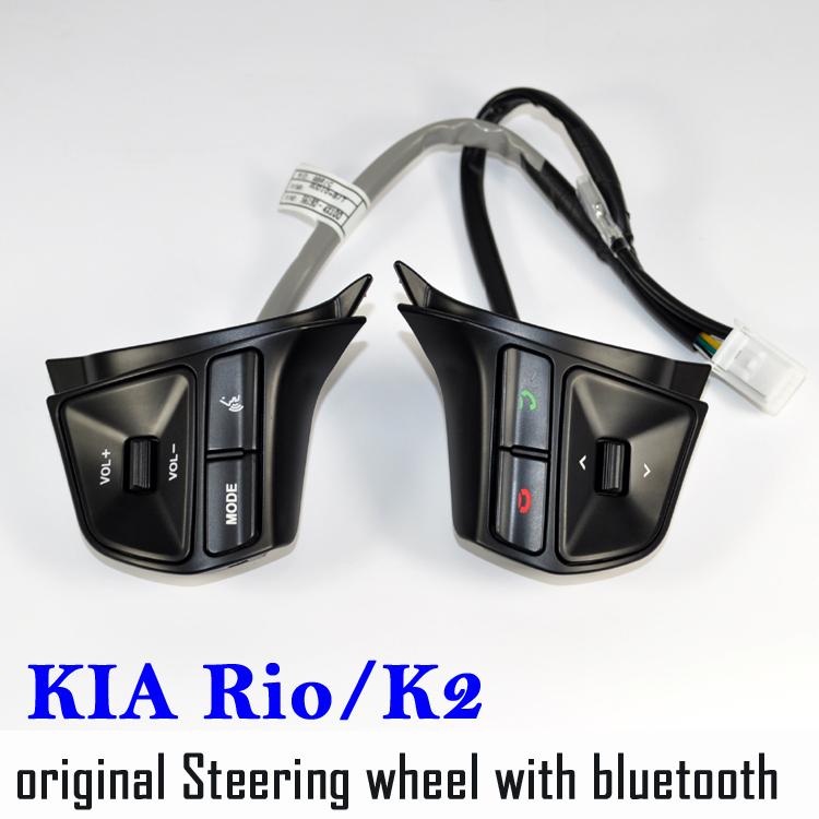 Original Steering wheel control Button KIA Rio Bluetooth audio adjuster voice controller rio - MTKNAVI Store store