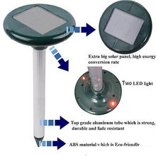 New Solar SNAKE Repeller Multi Pulse Plus Ultrasonic Pest Rodent Repellent Quote(China (Mainland))