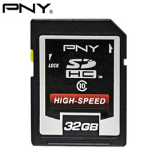 Buy PNY SD Card C10 32GB SDHC Class10 Memory Card High Speed Flash Memory SD Card Hi-End DSLR Cameras HD Video for $18.11 in AliExpress store