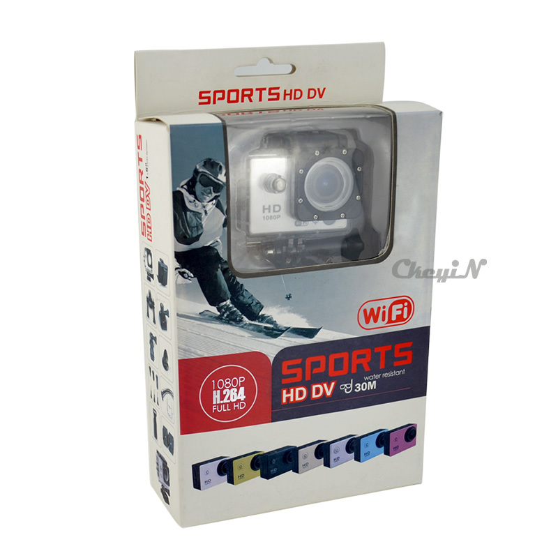 1080p Waterproof Sports Action Camera