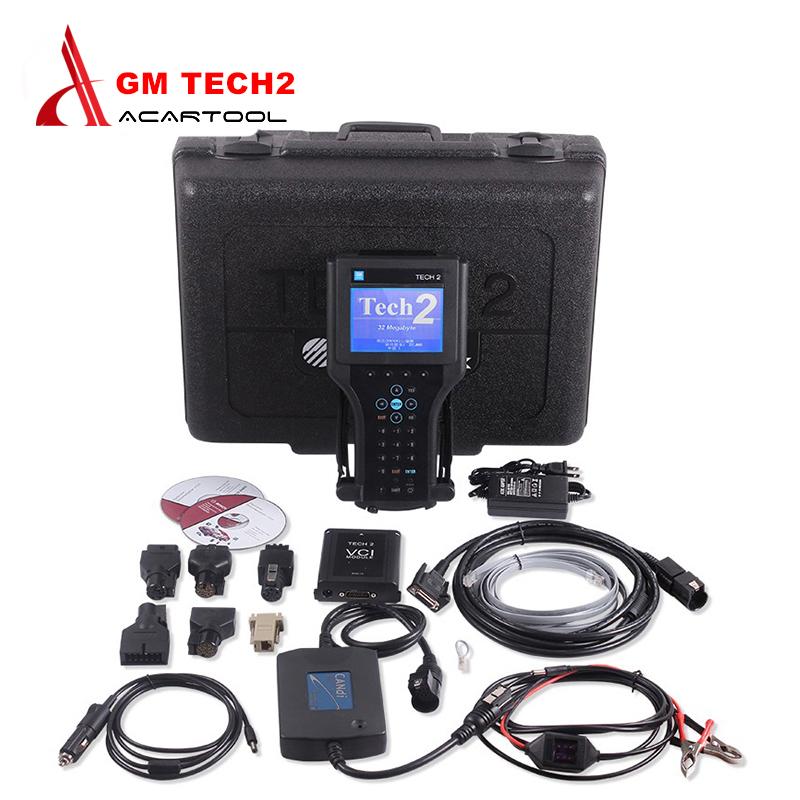 Best Quality GM TECH2 Full Set Support 6 Softwares(GM,OPEL,SAAB ISUZU,SUZUKI,HOLDEN) GM Tech 2 diagnostic tool DHL Free Ship(China (Mainland))