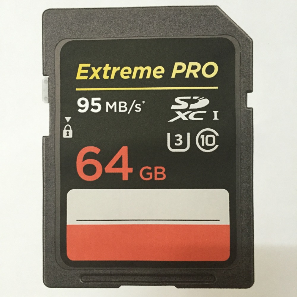 Hot Sales 95MB/s Extreme Pro 633x 64GB 32GB SDXC SDHC SD Card Class 10 Flash Memory Card High Speed For Canon Nikon SLR Camera(China (Mainland))