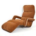 Modern Upholstered Furniture for Living Room Recliner Day Bed 6 Colors Floor Seating Adjustable Fabric Armrest