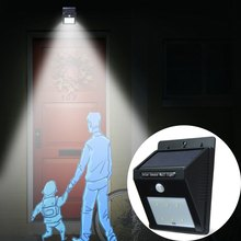 Waterproof Outdoor Solar Power Solar Light PIR Sensor Light Control 6 LEDs IP65 Water Resistant Fence Garden Pathway Wall Lamp(China (Mainland))
