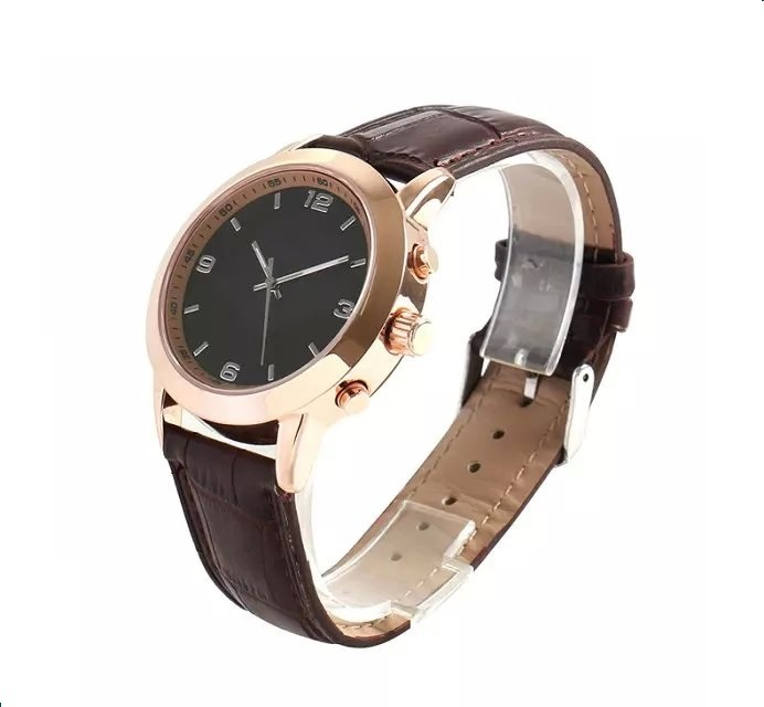 2015 Mechanical watch style Smart watch Q5 Smart Quartz Watch leather strap Call SMS Skype Mail Reminder for iphone Samsung HTC(China (Mainland))