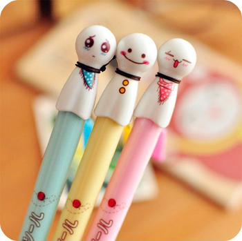 Free Shipping/ New Cute Cartoon Sunny Doll Gel pen/ Creative Korean ink pen / Children & Promotional Gift/Wholesale (G008)