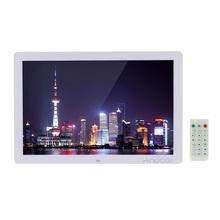 "17"" LED Digital Photo Frame 1440*900 Scroll Caption 1080P Advertising Machine Calendar Alarm Clock MP3 MP4 with Remote Control(China (Mainland))"