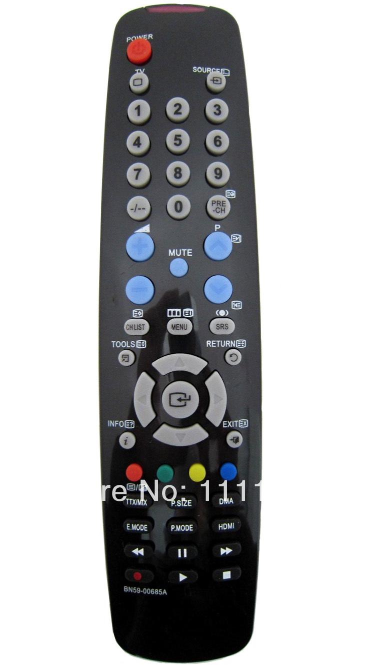 The new original quality TV samsung television Remote Control BN59-00685A(China (Mainland))