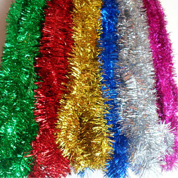 New 20PCS 2M christmas tree ribbons hang decoration gift for birthday party #SD009
