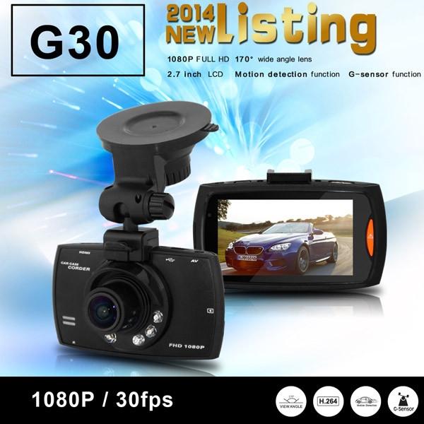 Автомобильный видеорегистратор 96650 G30 1080P 2,7 170 DVR G