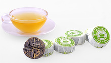 Chrysanthemum Mellow Flavors Mini Cake Raw Puer Tea Xinyi Hao Brands Weight Lose Health Care Products