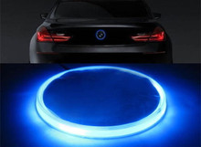 Free Shipping NEW 82mm Xenon Blue Emblem LED Background Light For BMW 3 5 7 Series X3 X5 X6(China (Mainland))
