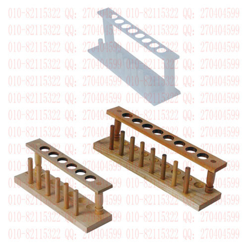 Wooden test tube rack 6 hole chemistry laboratory equipment Instruments(China (Mainland))