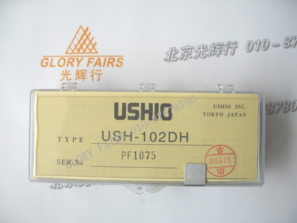 Ushio USH-102DH 100W mercury short arc lamp,Nikon fluorescence microscope,fiber optic light source illluminator,USH102DH bulb(China (Mainland))