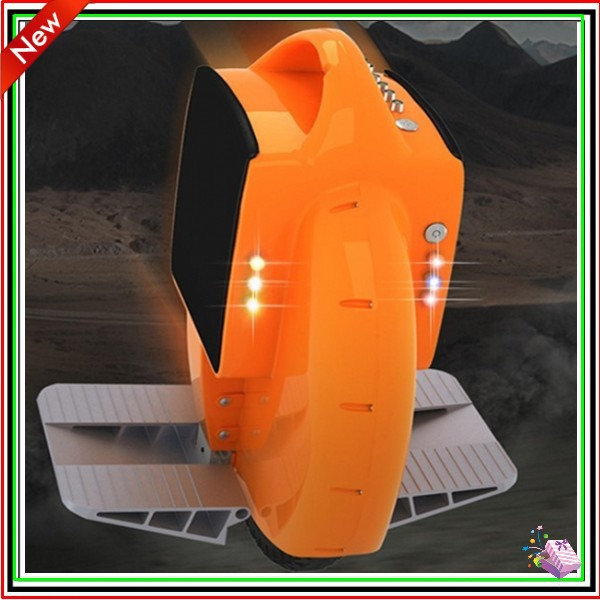 2015 the latest upgrade lighting electric unicycle Front Double lighting lamps and colorful dazzle light 2pcs lot