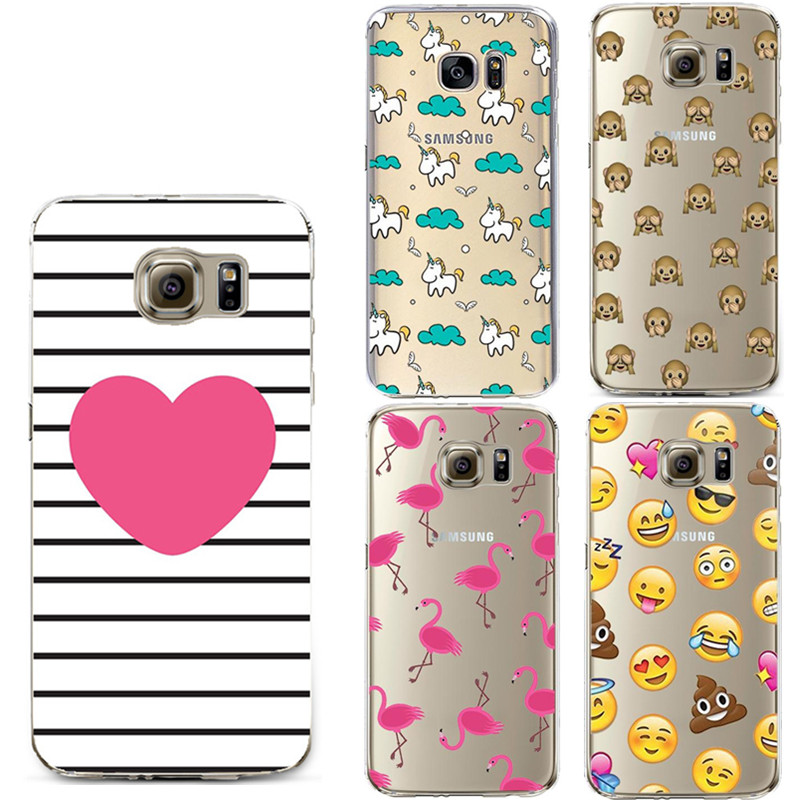 Love Heart Pattern Clear TPU Silicone Gel Back Cover Skin Soft Case for iPhone 6 6s Plus 5s 5C 5 4 4s SE Coque For Samsung S6 S7(China (Mainland))