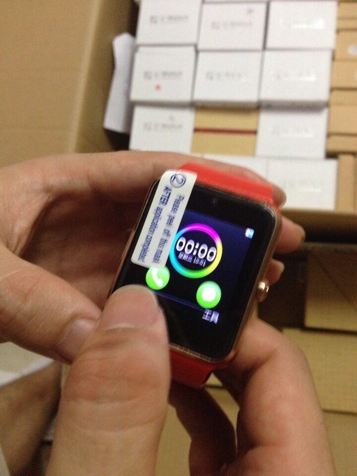 ถูก ร้อนGT08บลูทูธS Mart W Atchดูสมาร์ทสำหรับip hone IOS Samsung Galaxy Androidมาร์ทโฟนPedometerนอนตรวจสอบ