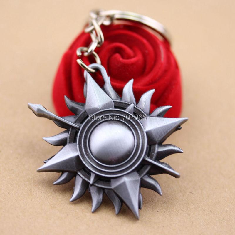 Game of Thrones House Nymeros Martell Unbent,Unbowed,Unbroken Die-Cast finish Keychain keyring<br><br>Aliexpress