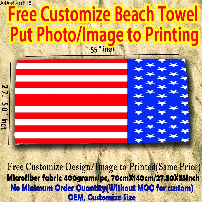 Best Selling Products Sublimation Custom Beach Towels With Flag(China (Mainland))