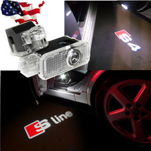 GHOST LOGO LASER PROJECTOR DOOR UNDER PUDDLE LIGHTS FOR AUDI S line A4 A3 A6 C5 Q7 Q5 A1 A5 80 TT A8 Q3 A7 R8 RS B6 B7 B8 S3 S4 - Watch and retail outlets store